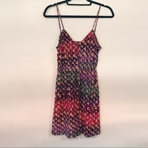 Ecote Rainbow Scale Sundress - Urban Outfitters